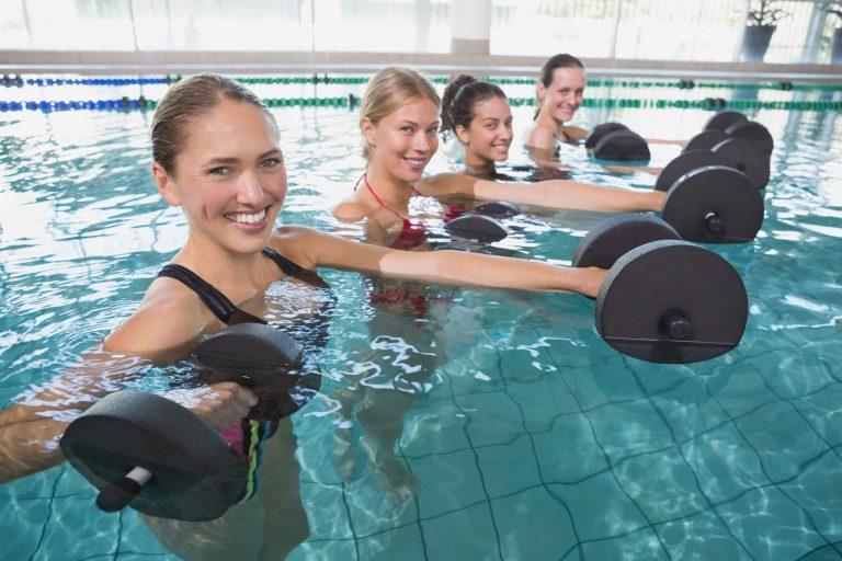 I benefici della ginnastica in acqua